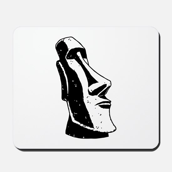Easter Island Head Mousepad