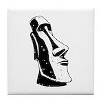 Easter Island Head Tile Coaster