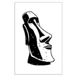 Easter Island Head Large Poster