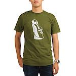 Easter Island Head Organic Men's T-Shirt (dark)
