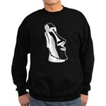 Easter Island Head Sweatshirt (dark)
