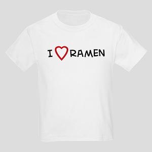 I Love Ramen Kids T-Shirt