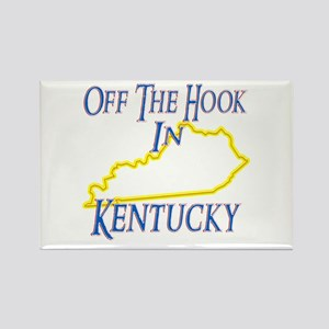 Off the Hook in KY Rectangle Magnet