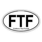 FTF Specialty Sticker (Oval )