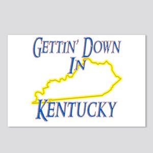 Gettin' Down in KY Postcards (Package of 8)