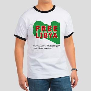 Free Libya Ringer T