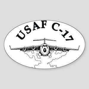 C-17 Sticker (Oval)