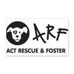 Arf 22x14 Peel 20x12 Wall Decal