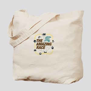 Amazing Race Map Tote Bag
