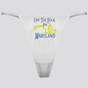 Off the Hook in MD Classic Thong