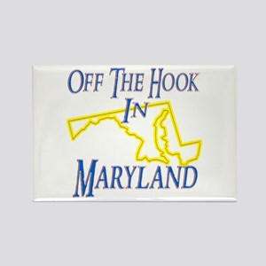 Off the Hook in MD Rectangle Magnet