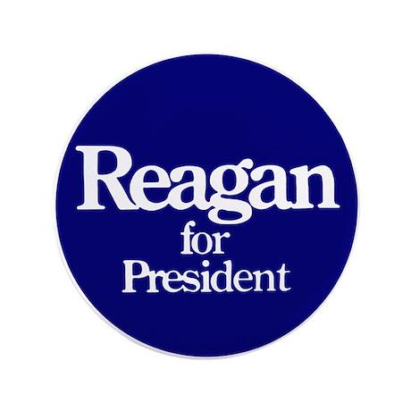 "The Reagan For President 3.5"" Button"