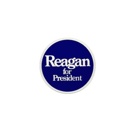 The Reagan For President Mini Button
