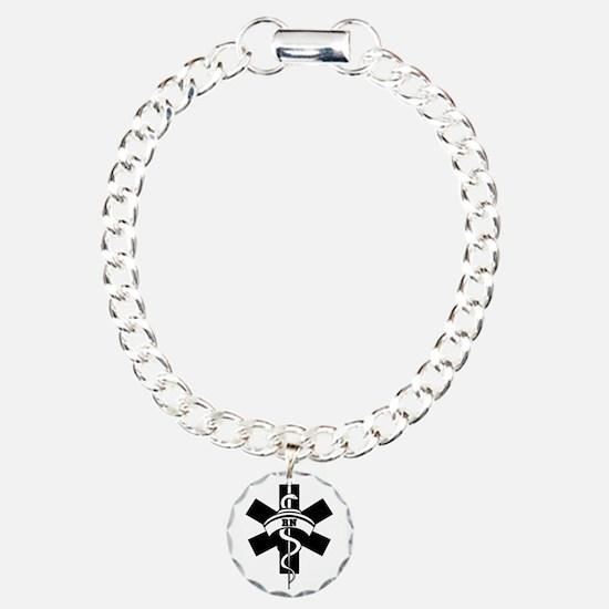 RN Nurses Medical Charm Bracelet, One Charm