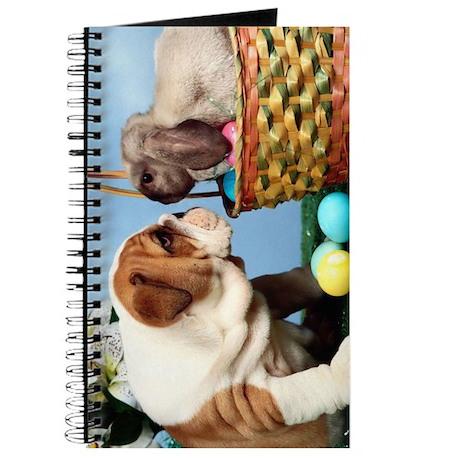 BULLDOG & EASTER BUNNY Journal