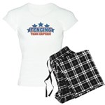 Fencing Team Captain Women's Light Pajamas