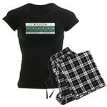 Fencing Salute Women's Dark Pajamas