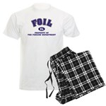 Foil Fencing Dept Men's Light Pajamas