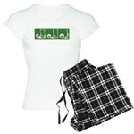 Green Thrust Women's Light Pajamas