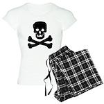 Skull and Crossed Bones Women's Light Pajamas