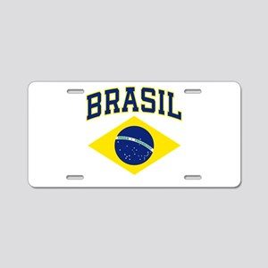 Brasil Cores Aluminum License Plate