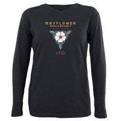 Mayflower Anniversary Em Plus Size Long Sleeve Tee