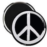 "Peace Symbol 2.25"" Magnet (10 pack)"