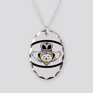 COPD Awareness/Prevention Necklace Oval Charm