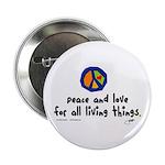 War Peace symbol Button