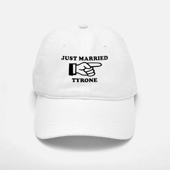 Just Married Tyrone Baseball Baseball Cap