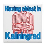 Oblast in Kaliningrad Tile Coaster