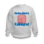 Oblast in Kaliningrad Kids Sweatshirt