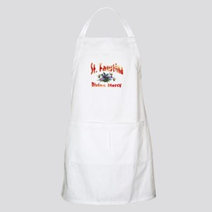 St. Faustina of Divine Mercy BBQ Apron