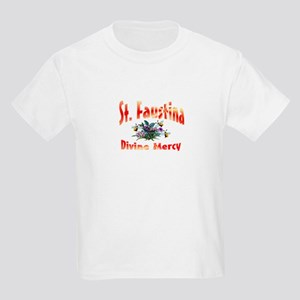 St. Faustina of Divine Mercy Kids T-Shirt