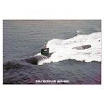 USS CINCINNATI Large Poster