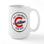 USS CINCINNATI 15 oz Ceramic Large Mug