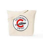 USS CINCINNATI Tote Bag