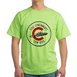USS CINCINNATI Green T-Shirt