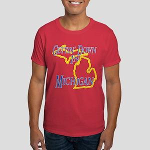 Gettin' Down in MI Dark T-Shirt