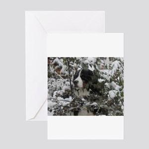 Lost in the Snow Greeting Card