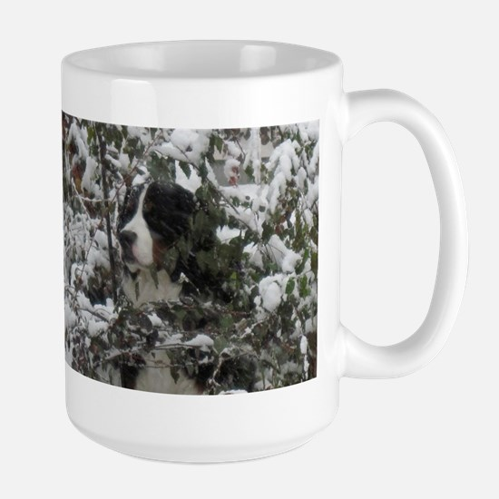 Lost in the Snow Large Mug