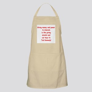 Money and Power BBQ Apron