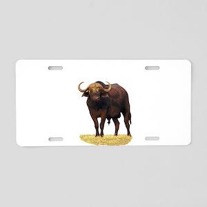 African Water Buffalo Aluminum License Plate