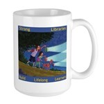 Art by Joe Cepeda (ALL Libraries) Large Mug