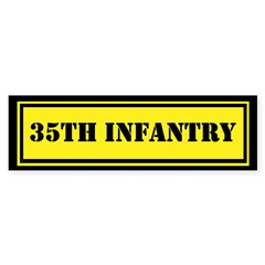 35th Infantry Sticker (Bumper)