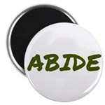 Abide Magnet