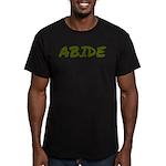 Abide Men's Fitted T-Shirt (dark)