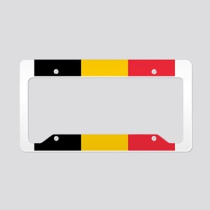 Belgium License Plate Holder