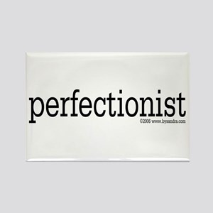 Perfectionist (black) Rectangle Magnet