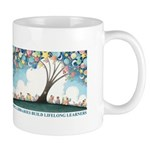 Library Art by Marla Frazee. Mug